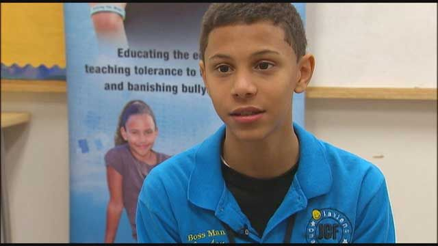 Jaylen's Challenge: Teen with #Tourette touring country seeking to end childhood #bullying - DC News FOX 5 DC WTTG - Jaylen Arnold can tell you all about how it feels to be #bullied. He lived it. Jaylen is 14 years old and has a neurological syndrome called Tourette's syndrome.