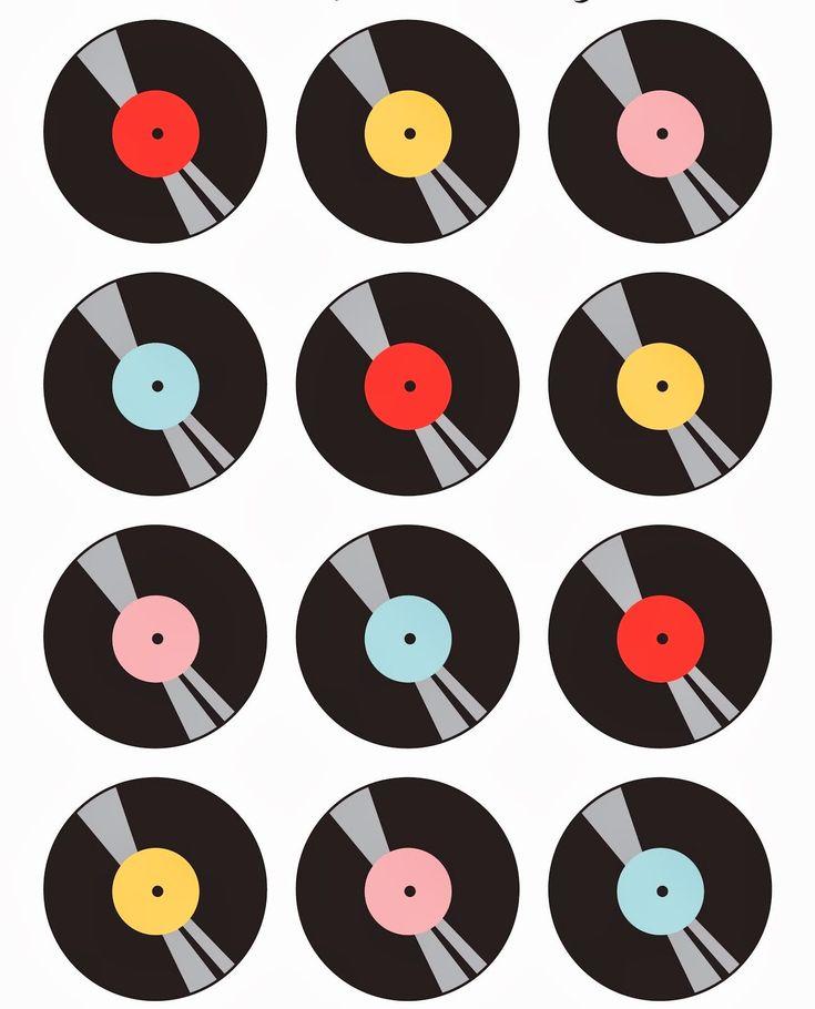 Mini Kit de los Años 50 para Imprimir Gratis.