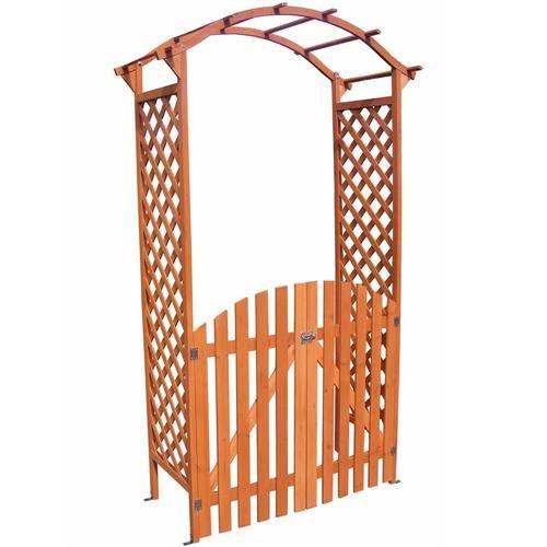 Supporto-per-rampicanti-arco-per-rose-legno-porta-cassetta-per-fiori-arco-per-portone-Pergola