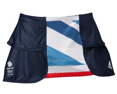 adidas Team GB Olympic 2012 Womens Tennis Skort by Stella McCartney - LOVE THIS!