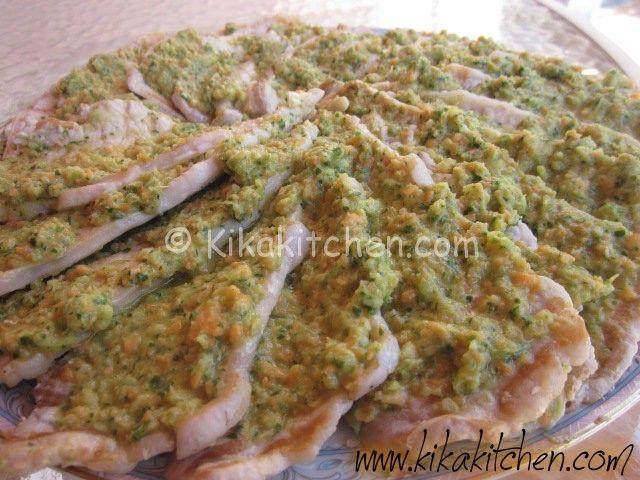 fettine di arista in salsa verde