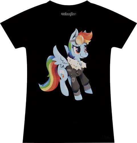 Steampunk Rainbow Dash Shirt
