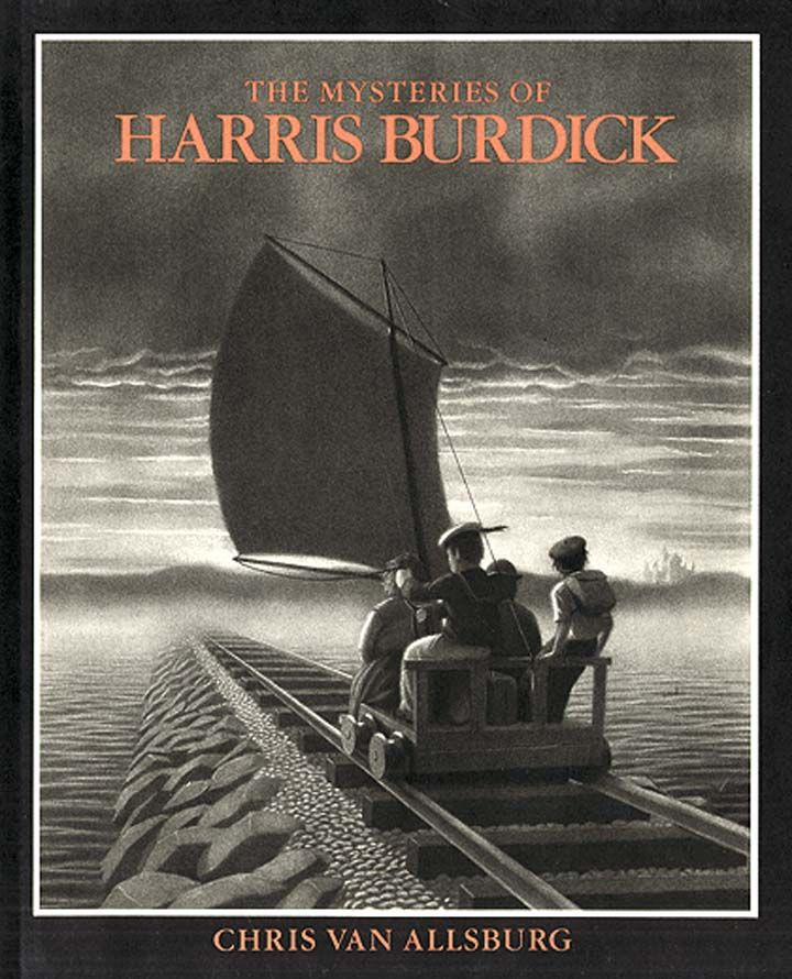 The Mysteries of Harris Burdick: good for story starters and predicting and…