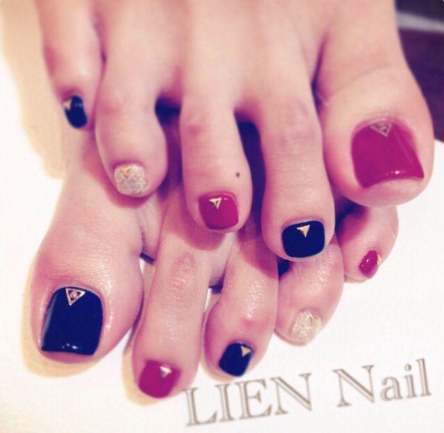 foot nail   Foot nails design   Pinterest
