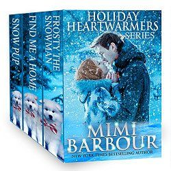 NY Times, USA Today, Amazon Bestselling and Award-Winning Author  Christmas is family time in small town, Carlton Grove… Three stories to lift your holiday spirits!  Snow Pup  A small town's lovely deputy and a father who lost his son years ago to a vindictive wife team up to save the kid from an overzealous social worker and foster home he hates.