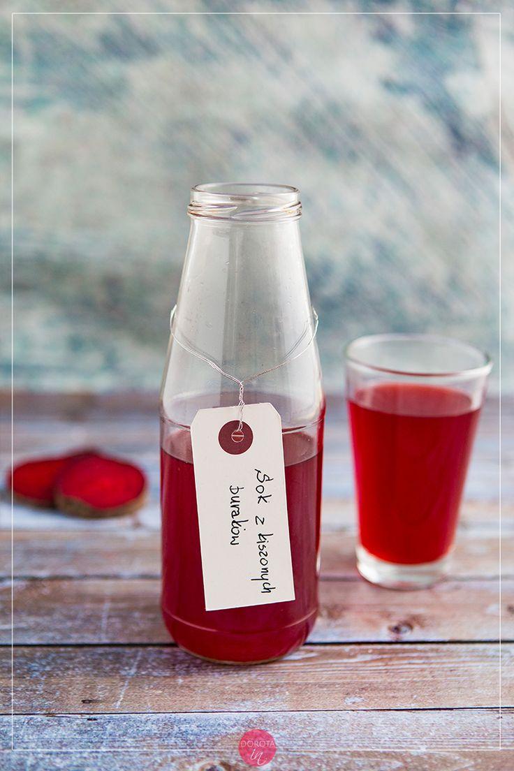 Sok z kiszonych buraków - doskonały naturalny probiotyk i baza do zdrowych koktajli #fit. #kuchnia #przepis #buraki