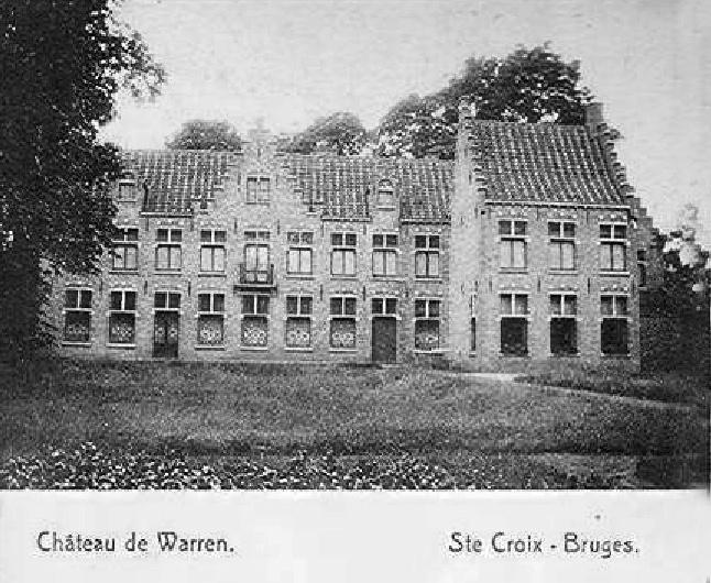 Sint-Kruis Brugge - Bruges kasteel Warrem - Castle