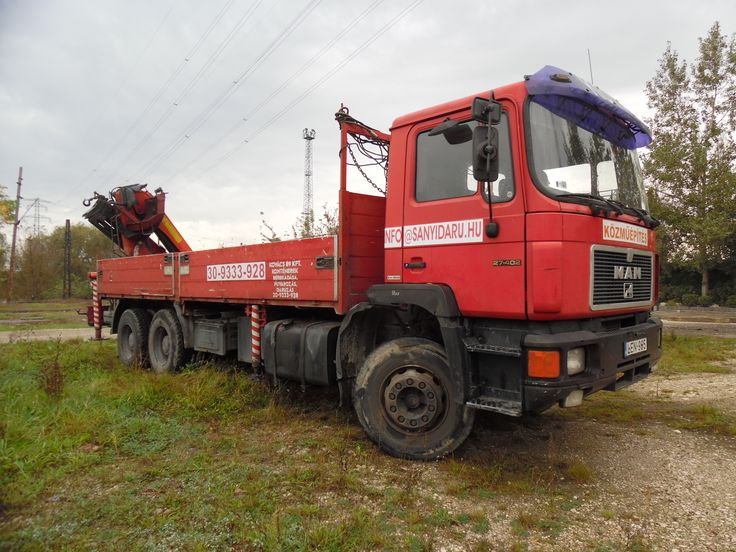 MAN Palfinger 13500 önrakodós teherautónk akár 8 tonnáig terhelhető!  http://www.kovacsdaru.hu/onrakodos_teherauto
