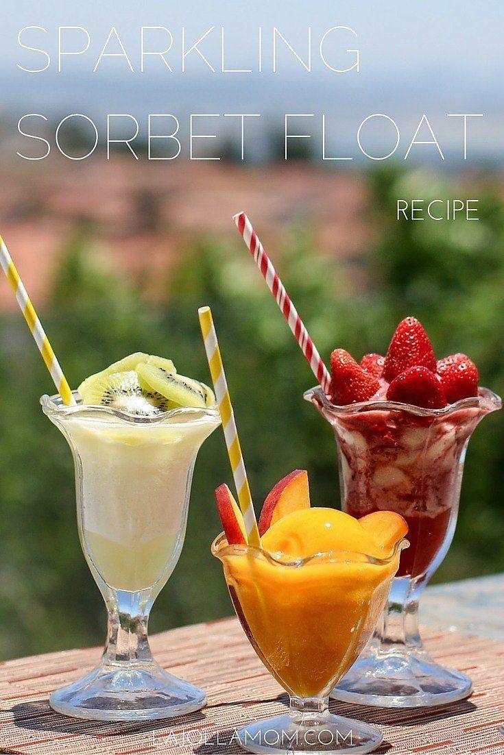 how to make easy sorbet