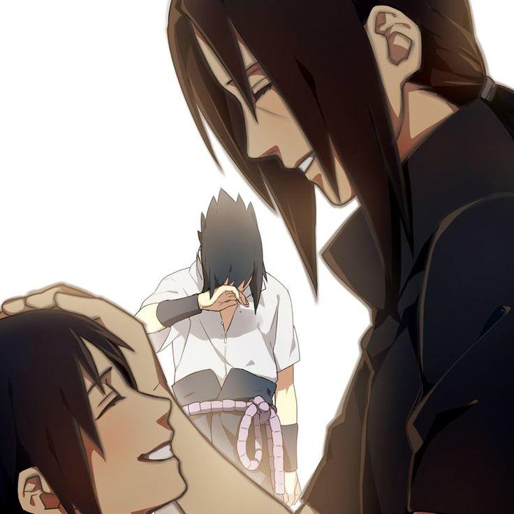 Itachi and Sasuke Uchiha.                                                                                                                                                                                 Mais