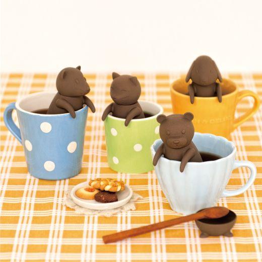 animal  tea strainer