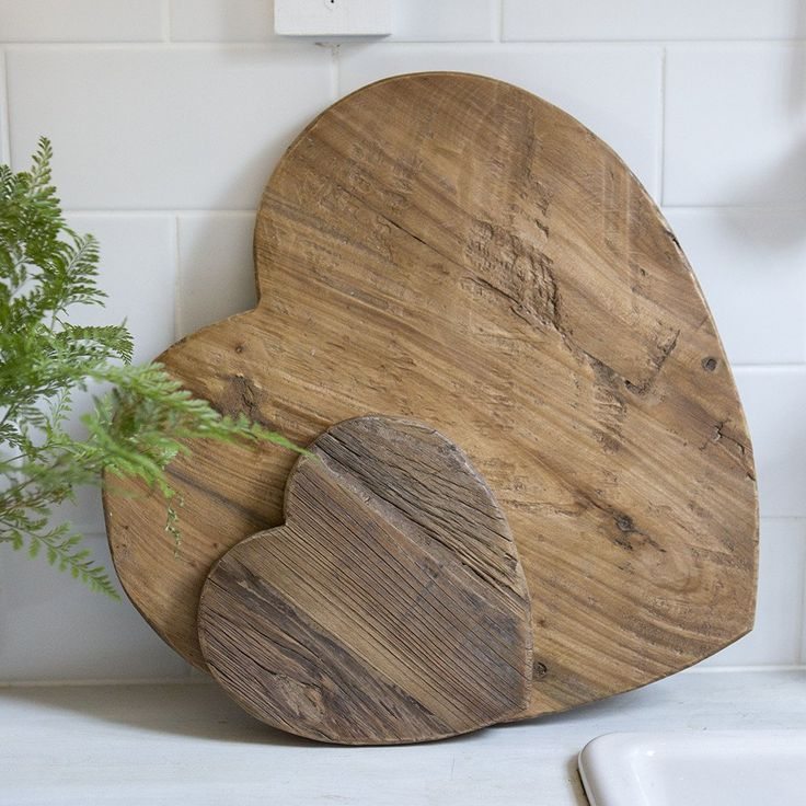 Recycled Elm wood boards - available in two sizes. Each one is unique and beautiful!
