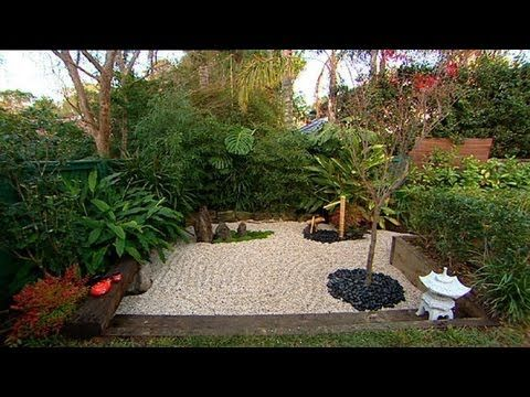 You can make your own zen garden in a corner of your for How to build your own house in florida