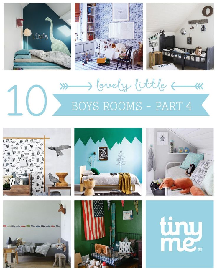 10 Lovely Little Boys Rooms Part 4 - Tinyme Blog