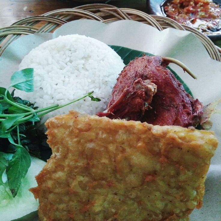 The best fried duck in Jakarta