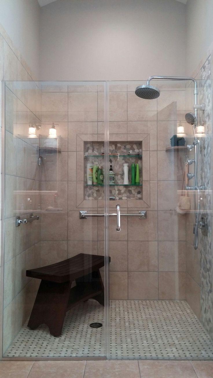 Best 25 Roll In Showers Ideas On Pinterest Bathroom