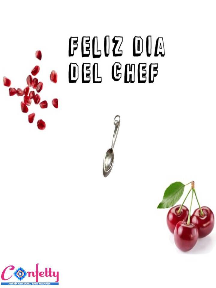 Feliz día del #chef dije de #plata.925 disponible en nuestra tienda en línea https://www.kichink.com/stores/confettyjoyeriamexicana#.Via7W9KrSt- #Kichink #ConfettyJoyería #handmadejewelry #madeinMéxico #chic #classy