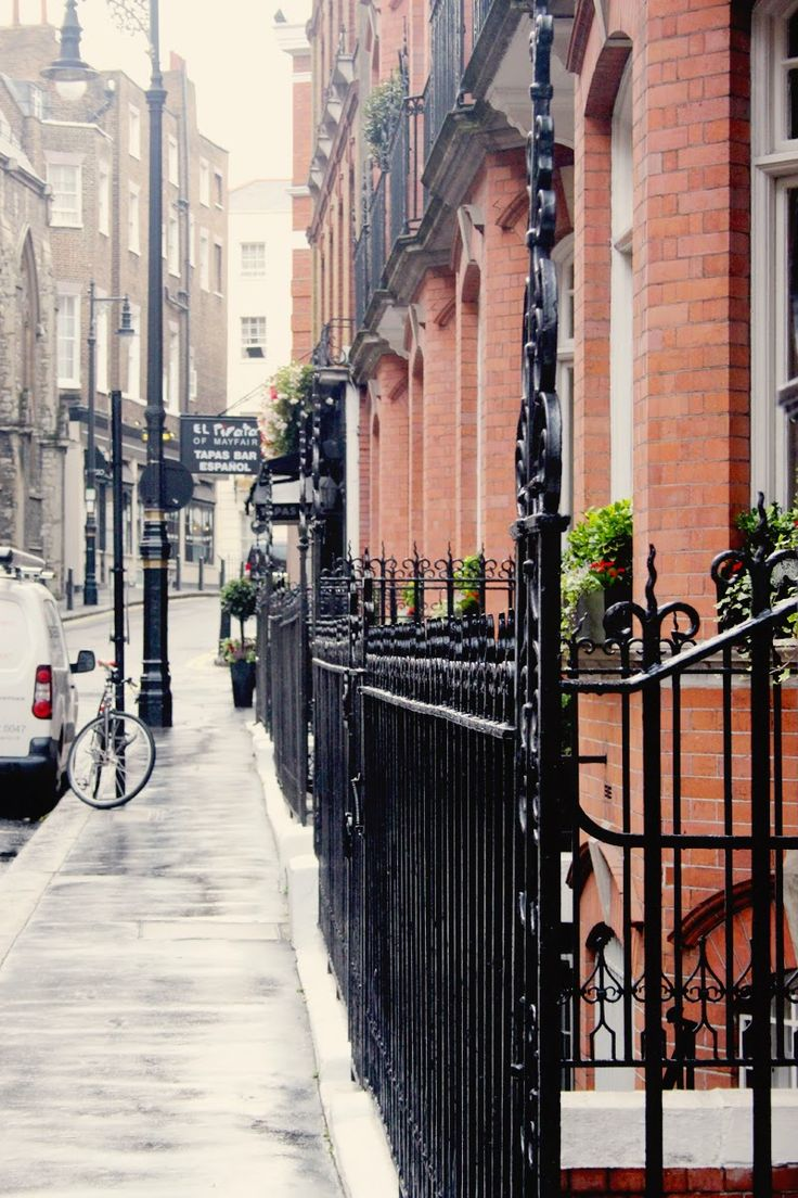 Mayfair, London...Ivy's stomping grounds in the City