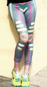 Nike running tights by Rayn Noon