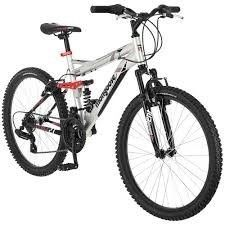 """nice 24"""" Mongoose Ledge 2.1 Boys' Mountain Bike, Silver/Red - For Sale Check more at http://shipperscentral.com/wp/product/24-mongoose-ledge-2-1-boys-mountain-bike-silverred-for-sale/"""