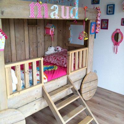 Top 5 leukste kinderbedden voor de #kinderkamer op www.kidskamers.nl