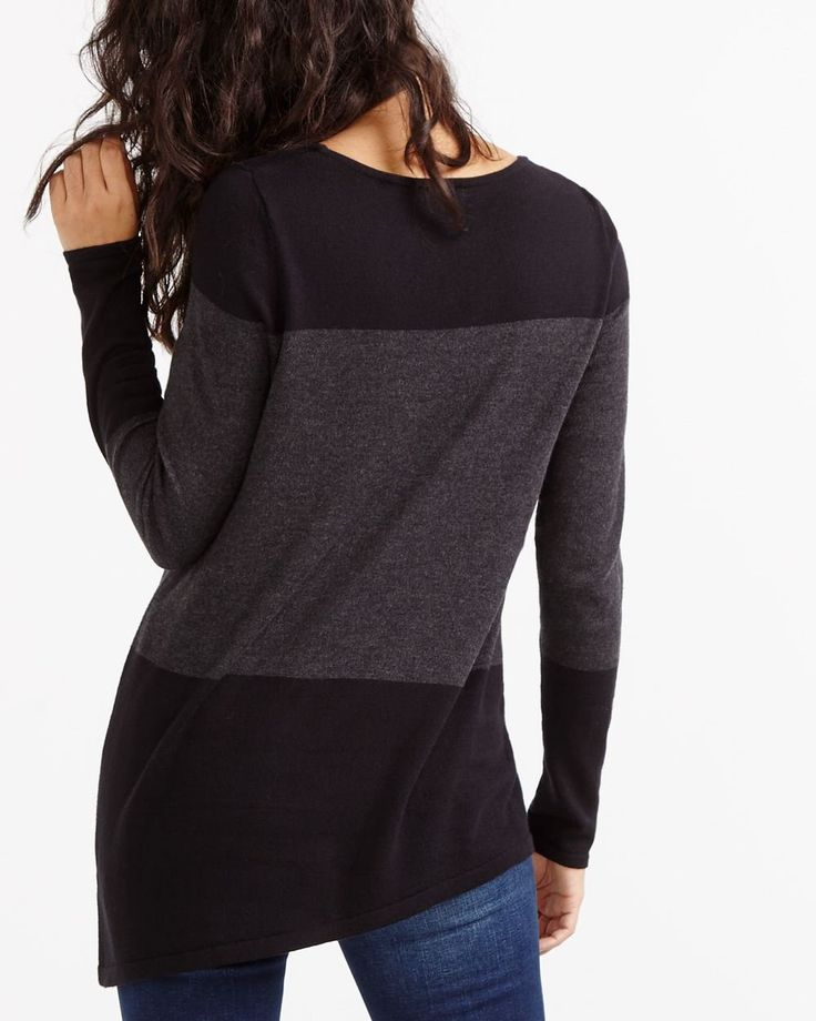 Tone on Tone Asymmetric Sweater