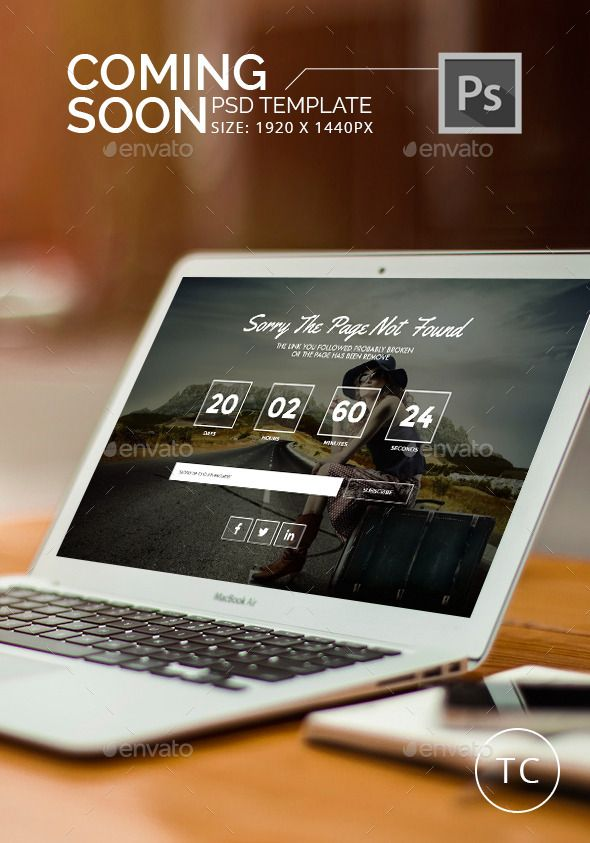 Coming Soon Page - #404 Pages #Web Elements Download here:  https://graphicriver.net/item/coming-soon-page/11560829?ref=alena994