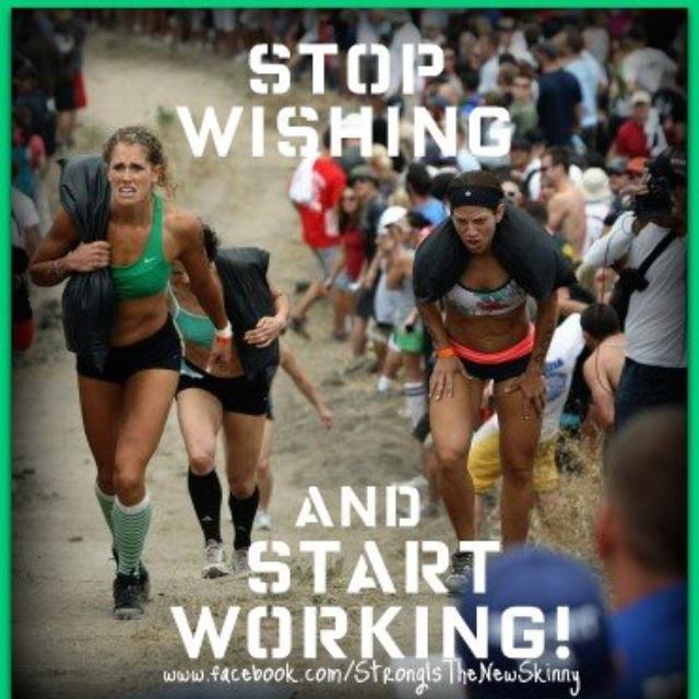 Workin it!