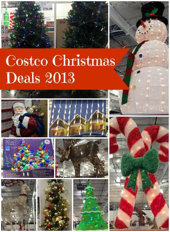 Costco christmas trees decorations