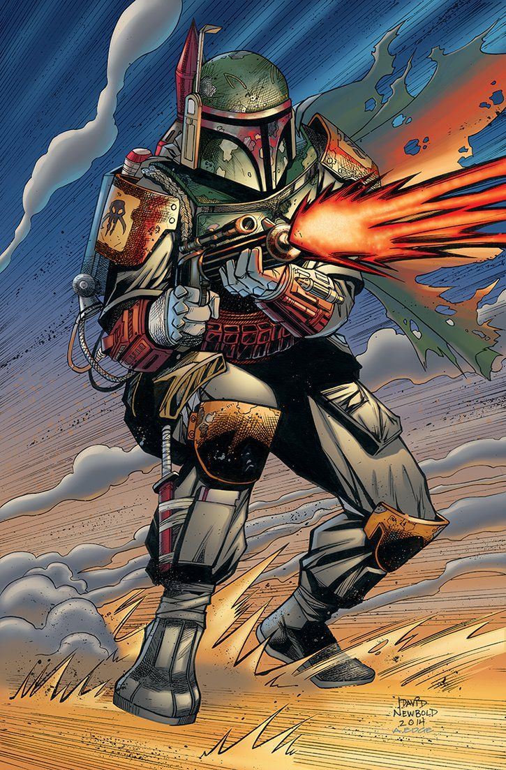 Boba Fett - Star Wars - David Newbold