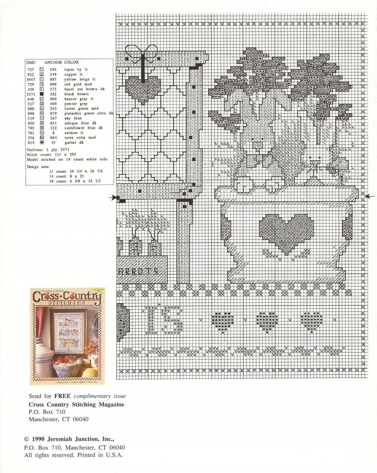 Schema punto croce The Bunnie Hutch 04