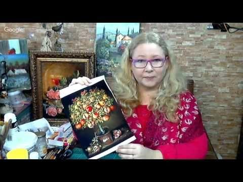 Наталья Фохтина. Дерево Счастья. Смешанная техника. Университет декупажа. Открытый онлайн мастер-класс.