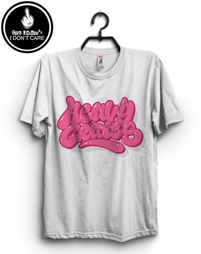 Zack Jordan T-shirt. Pink Baloon