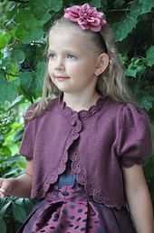 """""""Black Baccara"""" has very simple construction, requires basic level of knitting and crochet."""