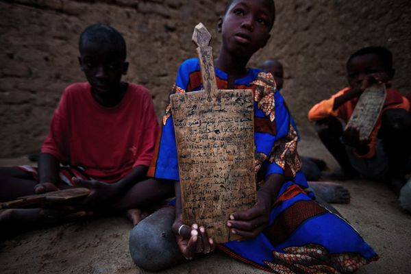 Timbuktu classroom, photography by Brent Stirton3