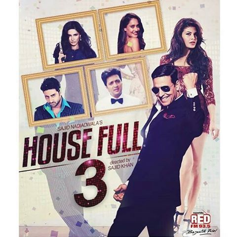 Amazing fan made poster of Housefull 3!