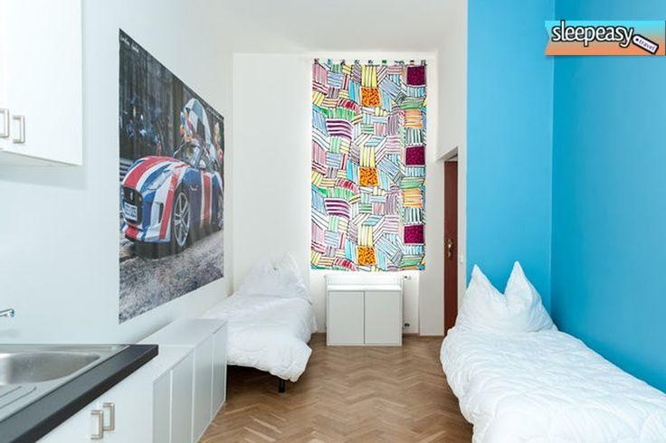 One of our cozy rooms . #room #prague #hostelprague #travel