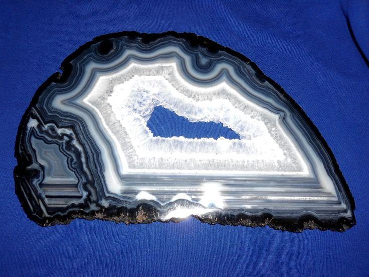 Extraordinary Brazilian AGATE SLICE*GEODE Slice*Stone for Gemini  and Virgo by…