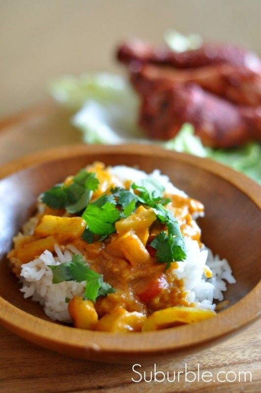 Vegetable Korma - this delicious #vegetarian dish is sure to be a hit ...