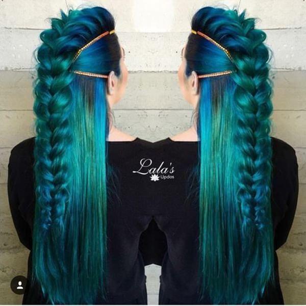 71 Ideen für grüne Haarfärbemittel, die Sie lieben werden