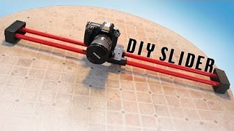 $10 DIY Camera Slider! - YouTube