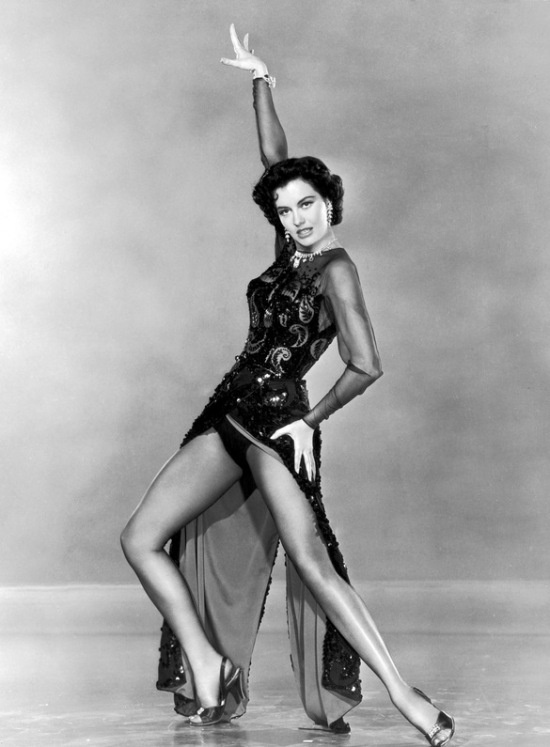 Dancers have the most beautiful legs! Cyd Charisse