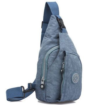 Women Men Wash Cloth Casual Pillow Chest Diagonal Bags - US$13.99