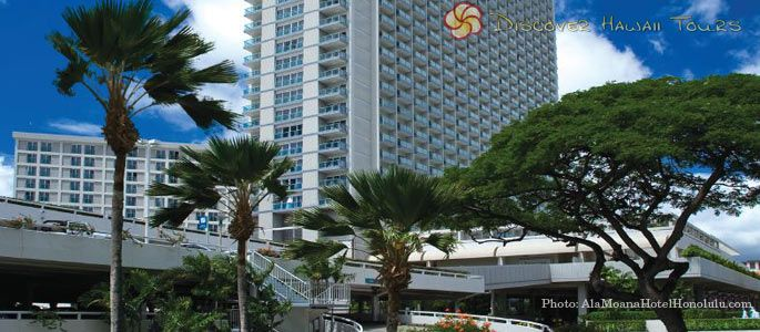 ALA MOANA HOTEL (Oahu) — Located in the heart of Honolulu and on the edge of Waikiki Beach, the Ala Moana Hotel has been a centerpiece for Hawaii tourism since first opening.