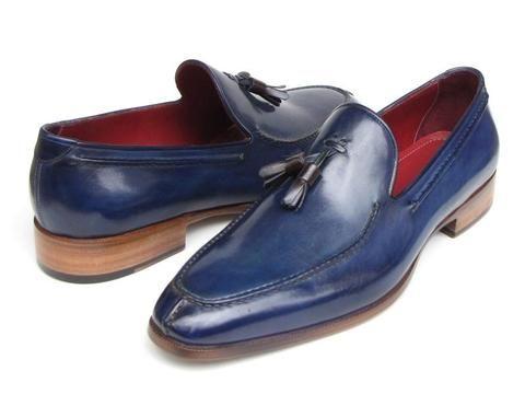 Paul Parkman Men's Tassel Loafer - Blue – Styles By Kutty