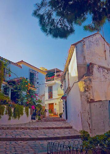 Casco histórico de Estepona, Málaga, Costa del Sol.España
