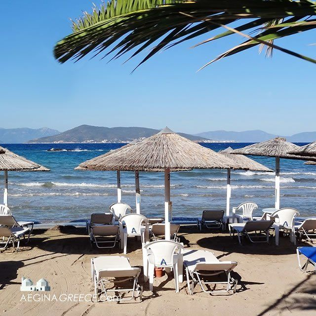 The Avra beach is the closest beach to the port of Aegina town. It is located in front of the archeological site of Kolona and at walking distance from…