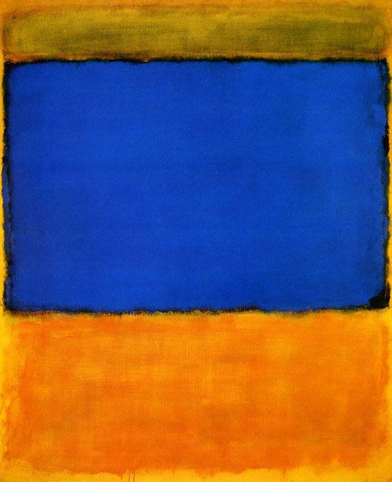 A Rothko le interesaba, en sus obras, la expresión de emociones humanas básicas más allá de cualquier relación en la combinación de los colores, o la interacción entre fondo y forma.