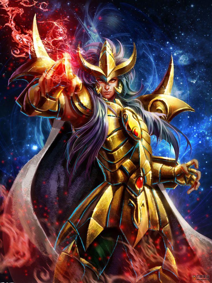 Cavaleiro de Ouro - Milo de Escorpiao by SONICX2011.deviantart.com on @DeviantArt