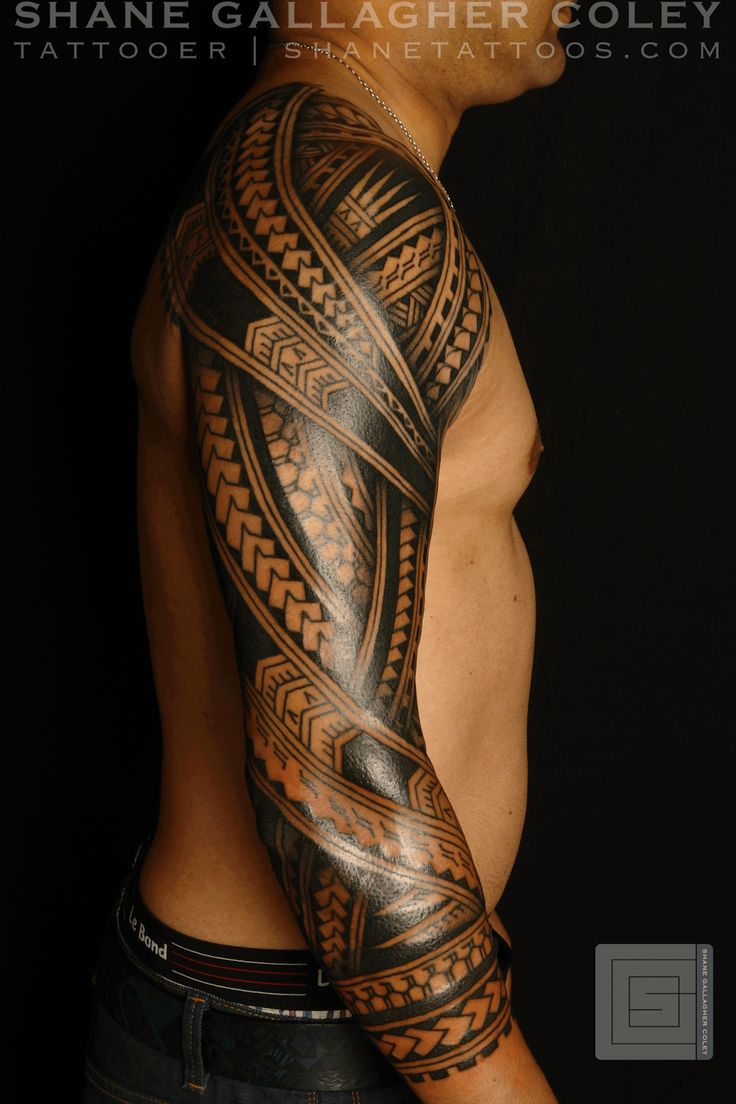 Hawaiian Tribal Tattoos Sleeves 25+ great ideas...